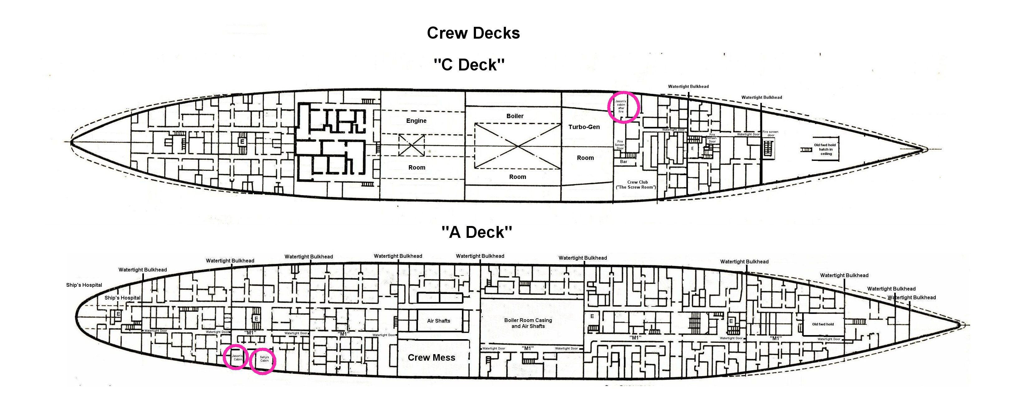 Deck plans star sapphire crew decks a and c b deck is not shown click here to open the pdf file very large baanklon Images